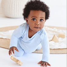 Load image into Gallery viewer, Boody Body Baby Ecowear Long Sleeve Top - Soft Cooling Infant Shirt Made From Natural Organic Bamboo - Soft Breathable Eco Fashion For Sensitive Skin - Sky Blue, 12-18 Months