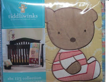 Load image into Gallery viewer, Tiddliwinks Abc 123 3Pc Crib Bedding Set