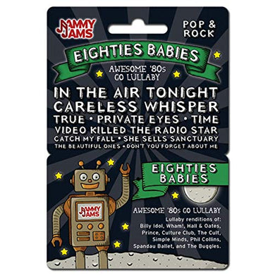 Jammy Jams Lullaby Download Card | Lullaby Renditions Of '80S Hits, New Wave, Pop, Rock &Amp; More | Full Album Download Card (Eighties Babies: Awesome '80S Go Lullaby)