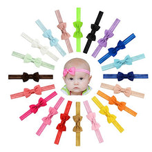Load image into Gallery viewer, 20 Pcsbaby Girls Headbands Hair Bows Headband Big Bow Hair Bands For Toddler (2.8 Inch 20 Pcs 644)