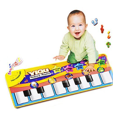 Bestpriceam New Touch Play Keyboard Musical Music Singing Gym Carpet Mat Kids Gift, 28.35Inch X 11.02Inch