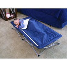 Load image into Gallery viewer, Regalo My Cot Deluxe Portable Folding Travel Bed With Sleeping Bag