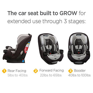 Safety 1St Grow And Go Ex Air 3-In-1 Convertible Car Seat, Arctic Dream