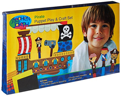 Stephen Joseph Puppet Craft And Play Set, Pirate