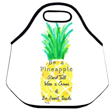 Estrellaw Pineapple Pattern Lunch Bag