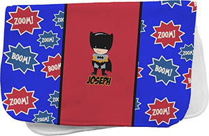 Superhero Burp Cloth (Personalized)