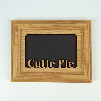 Northland Frames And Gifts Inc - Cutie Pie Oak Picture Frame And Oak Matte H 5X7