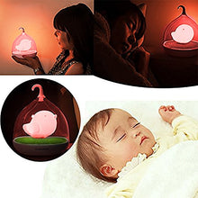 Load image into Gallery viewer, Holiday Gift Blue Led Night Light Childrens Toddler And Baby Battery Operated! Soft Light Comforting To Help Your Baby Fall Asleep Faster
