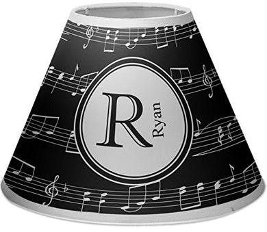Rnk Shops Musical Notes Empire Lamp Shade (Personalized)