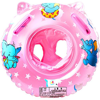 Stillcool Baby Swimming Float, Inflatable Swimming Ring With Float Seat For 6 Months-6 Years Children (Pink)