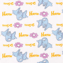 Load image into Gallery viewer, Trend Lab Dr. Seuss Horton Deluxe Flannel Fitted Crib Sheet
