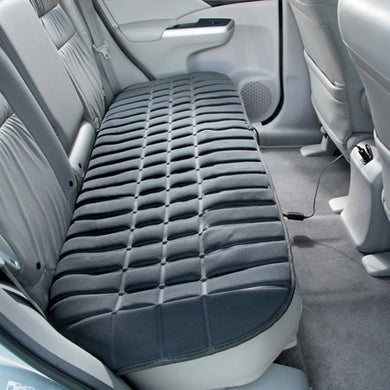 Heated Rear Seat Cushion - Fits Most Cars, Trucks, Suvs, And Rvs