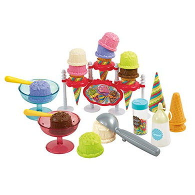 Playgo Ice Cream Parlor 35 Pcs Toy Dishes