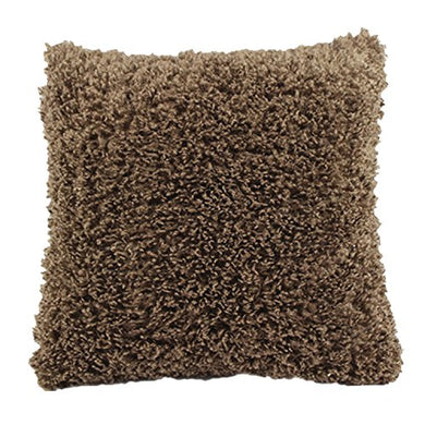 Angielucky Warm Plush Faux Fur Throw Pillow Case Pillow Shell Cushion Cover Pillowcase (Cover Only 20  X 20 , Brown)