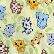 Load image into Gallery viewer, Trend Lab Chibi Zoo Changing Pad Cover, Sage