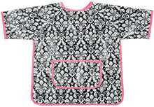 Load image into Gallery viewer, Am Pm Kids! Paint Smock, Damask With Hot Pink