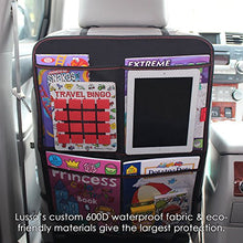 Load image into Gallery viewer, Kick Mats  - Car Seat Back Protectors With Odor Free, Premium Waterproof Fabric, Reinforced Corners To Prevent Sag, And 4 Mesh Pockets For Large Storage