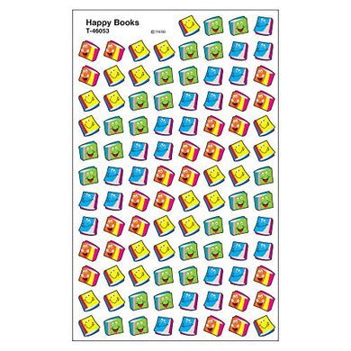 Trend Enterprises, Inc. Happy Books Supershapes Stickers, 800 Ct
