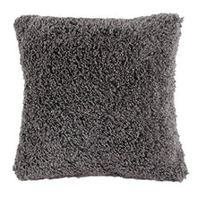 Load image into Gallery viewer, Angielucky Warm Plush Faux Fur Throw Pillow Case Pillow Shell Cushion Cover Pillowcase (Cover Only 20  X 20 , Gray)
