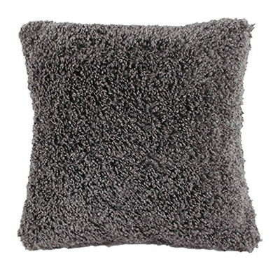 Angielucky Warm Plush Faux Fur Throw Pillow Case Pillow Shell Cushion Cover Pillowcase (Cover Only 20  X 20 , Gray)