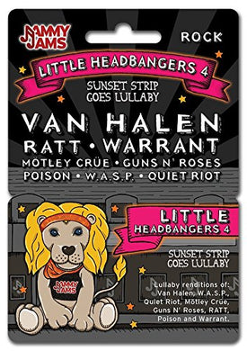 Jammy Jams Lullaby Download Card | 'Little Headbangers' Lullaby Renditions Of Heavy Metal, Hard Rock &Amp; Southern Rock | Full Album Download Card (Little Headbangers 4: Sunset Strip Goes Lullaby)