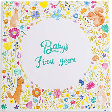 Baby Memory Book &Amp; Journal For Boy &Amp; Girl By Petite Pro: 1St 5 Years Record Book