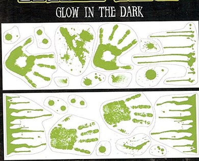 Halloween Glow In The Dark Haunted House Wall Decor