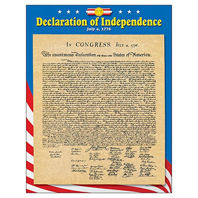 Trend Enterprises Declaration Of Independence Learning Chart (1 Piece), 17 X 22