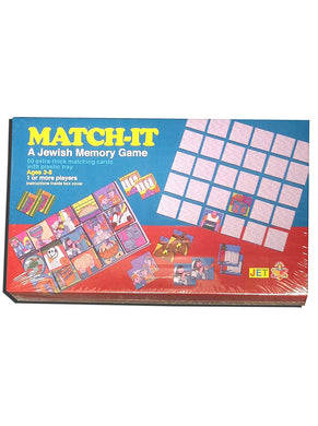 Match-It: A Jewish Memory Game