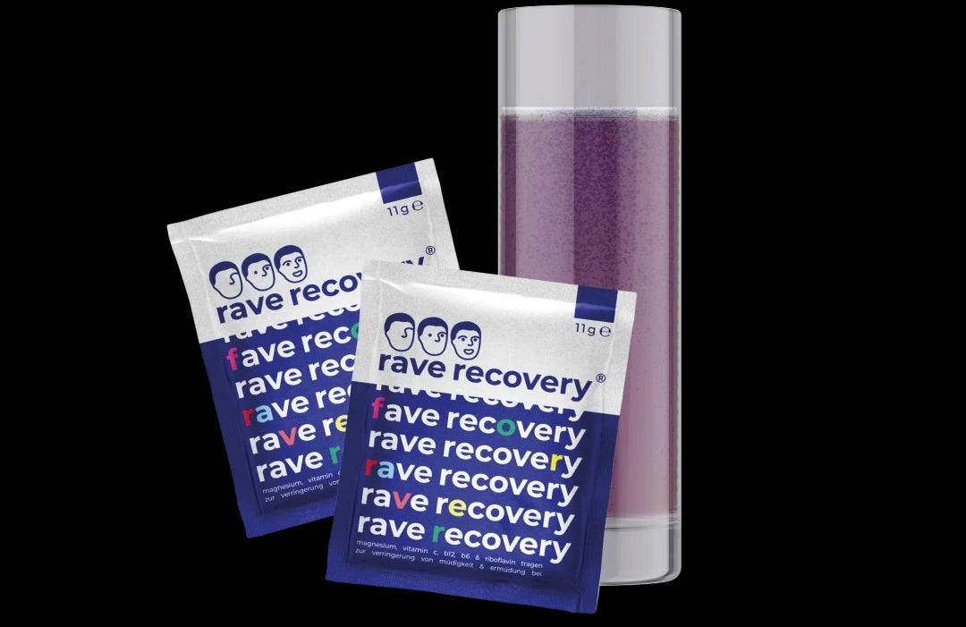 rave recovery packaging back
