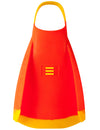 DMC REPELLOR FINS LIFEGUARD ORANGE WITH YELLOW STRAP N TIP