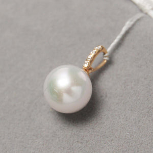美億年珠寶 Melinie Jewelry Co 項鍊 Necklace 鑽石 pearl diamond pendant 吊墜 項鍊