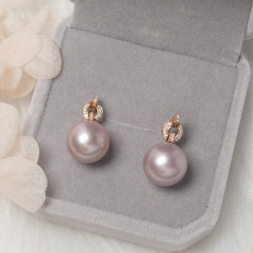 美億年珠寶 Melinie Jewelry Co 珍珠耳環 耳釘 natural pearl earrings