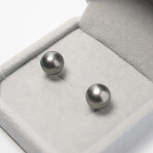 Load image into Gallery viewer, 美億年珠寶 Melinie Jewelry Co 珍珠耳環 耳釘 natural pearl earrings