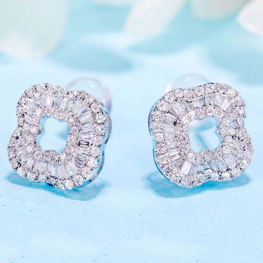 美億年珠寶 Melinie Jewelry Co earring 耳環 耳釘 Diamond 鑽石