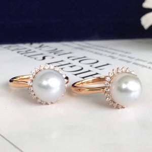 美億年珠寶 Melinie Jewelry Co 珍珠耳環 戒指 ring 耳釘 natural pearl earrings pendant necklace 吊墜 項鍊 頸鏈