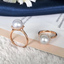 Load image into Gallery viewer, 美億年珠寶 Melinie Jewelry Co 珍珠耳環 戒指 ring 耳釘 natural pearl earrings pendant necklace 吊墜 項鍊 頸鏈