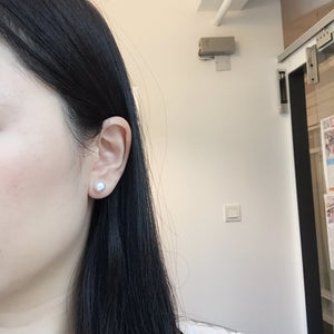 美億年珠寶 melinie jewelry diamond akoya pearl earrings 珍珠 鑽石耳環