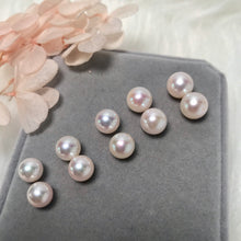 Load image into Gallery viewer, 美億年珠寶 Melinie Jewelry Co 珍珠耳環 耳釘 natural pearl earrings pendant necklace 吊墜 項鍊 頸鏈