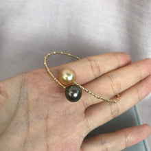 Load image into Gallery viewer, 美億年珠寶 南洋金珠 大溪地珍珠 18k金 手鐲 手鏈 melinie jewelry south sea tahitian pearl 18k bracelet