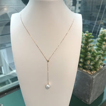 Load image into Gallery viewer, Akoya pearl necklace melinie jewelry 美億年珠寶 珍珠18K金頸鏈