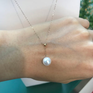Akoya pearl necklace melinie jewelry 美億年珠寶 珍珠18K金頸鏈