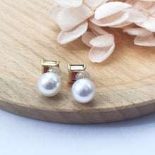 Load image into Gallery viewer, melinie jewelry necklace akoya earrings  美億年珠寶 耳環 akoya