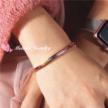 Load image into Gallery viewer, 美億年珠寶 18K金 寶石手鐲 Melinie Jewelry 18K Gold Gemstome Gem bangle bracelet