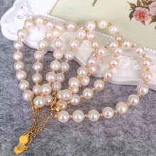 Load image into Gallery viewer, 美億年珠寶 Melinie Jewelry Co 珍珠手鏈 natural pearl bracelet 18K gold K金