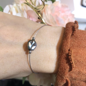 美億年珠寶18K金珍珠手鐲 melinie jewelry gold bangle bracelet