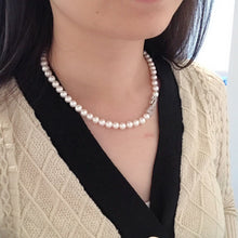 Load image into Gallery viewer, melinie jewelry freshwater pearl necklace 美億年珠寶 淡水珍珠頸鏈 項鍊
