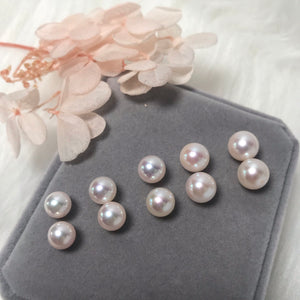 美億年珠寶 Melinie Jewelry Co 珍珠耳環 耳釘 natural pearl earrings pendant necklace 吊墜 項鍊 頸鏈