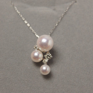 美億年珠寶 Melinie Jewelry Co 項鍊 Necklace 鑽石 diamond pendant pearl 珍珠