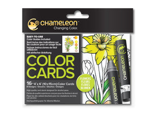 Chameleon Color Cards – Blumen